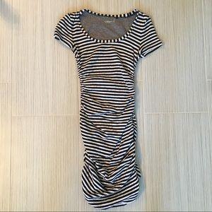 Caslon ruched dress